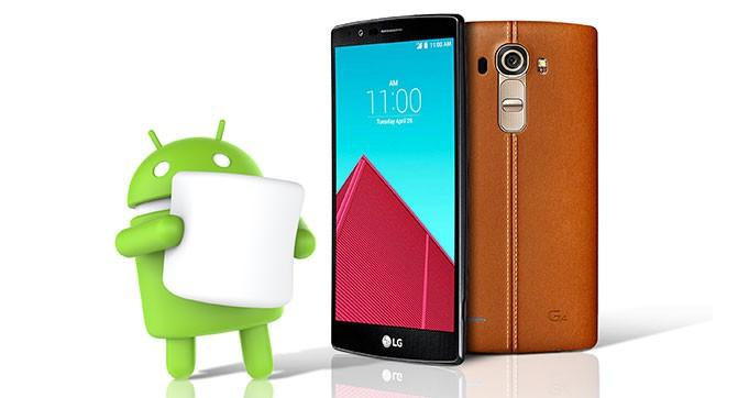 LG приготовит Android Marshmallow для G4 на следующей неделе