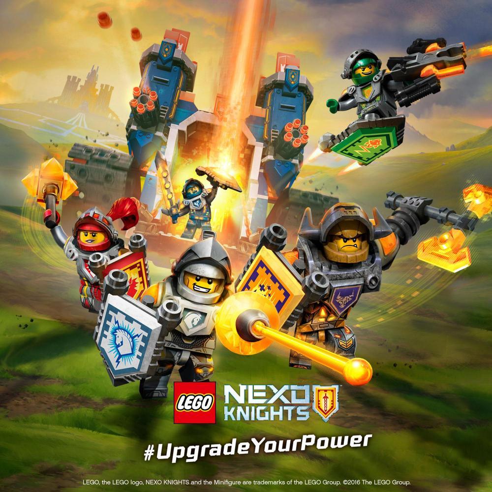 Новая серия LEGO NEXO KNIGHTS стирает границы между реальностью и виртуальным миром