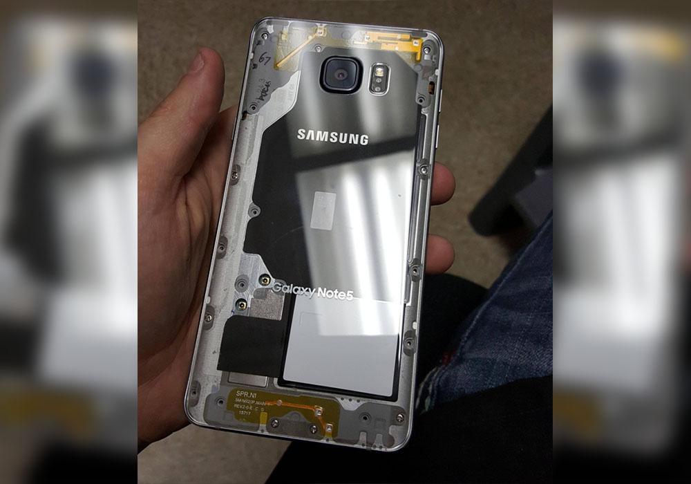 Такой необычный Galaxy Note 5