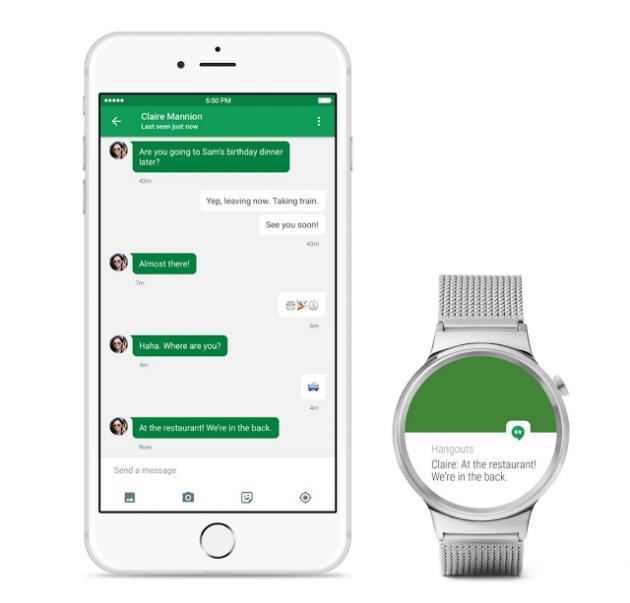 Android Wear теперь официально дружит с iOS