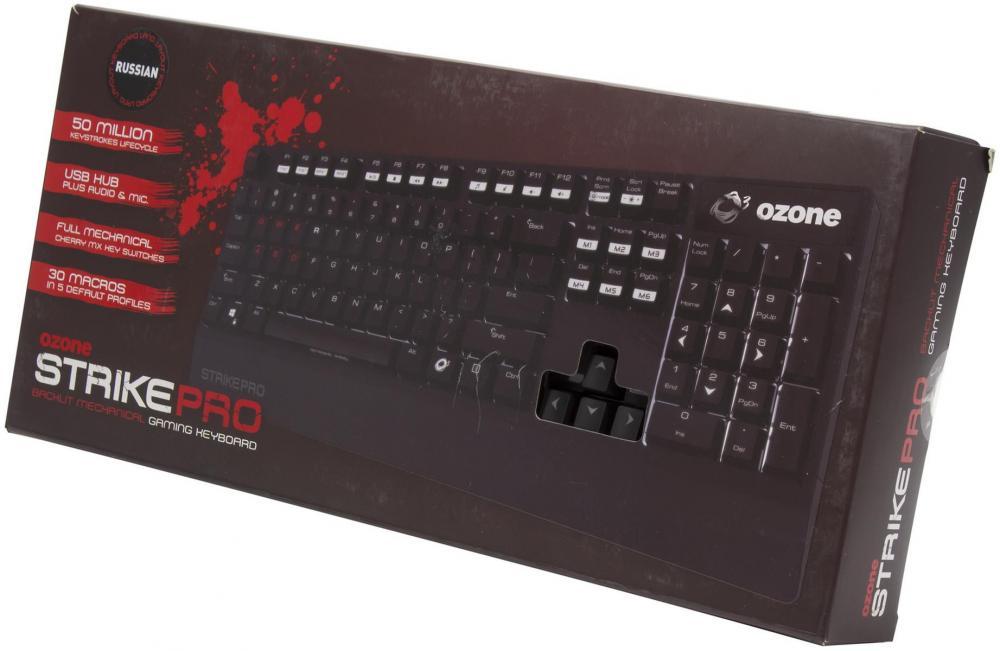 Игровая клавиатура OZONE Strike Pro: то, что надо геймеру!