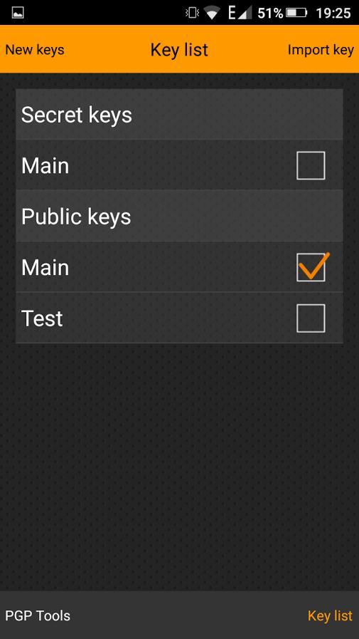 PGPTools - мультиплатформенный шифратор для Android