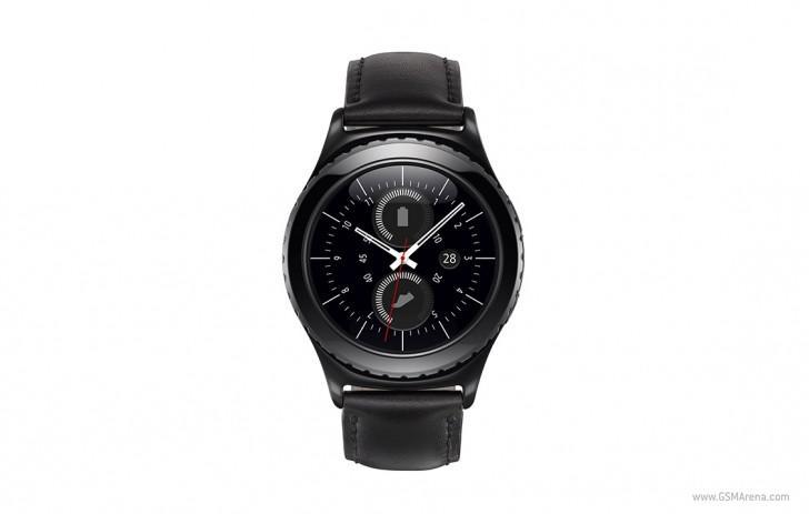 Умные часы Samsung Gear S2 с вращающимся безелем