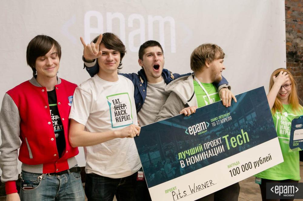 44 проекта за 24 часа: в Петербурге завершился EPAM HackDay
