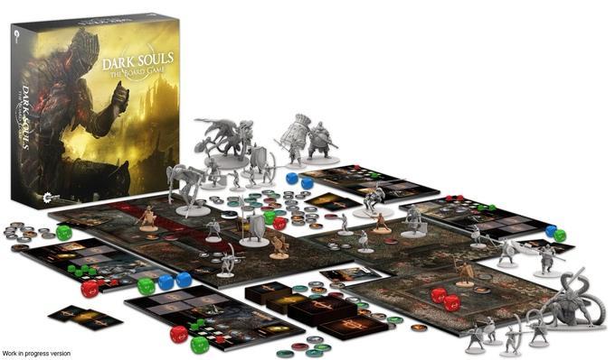 Бюджет для настольной версии Dark Souls III собрали за 3 минуты
