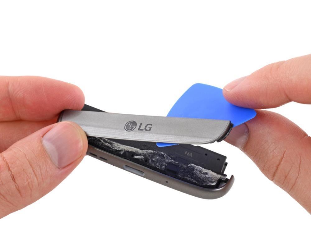 iFixit сообщает, что LG G5 ремонтопригоден