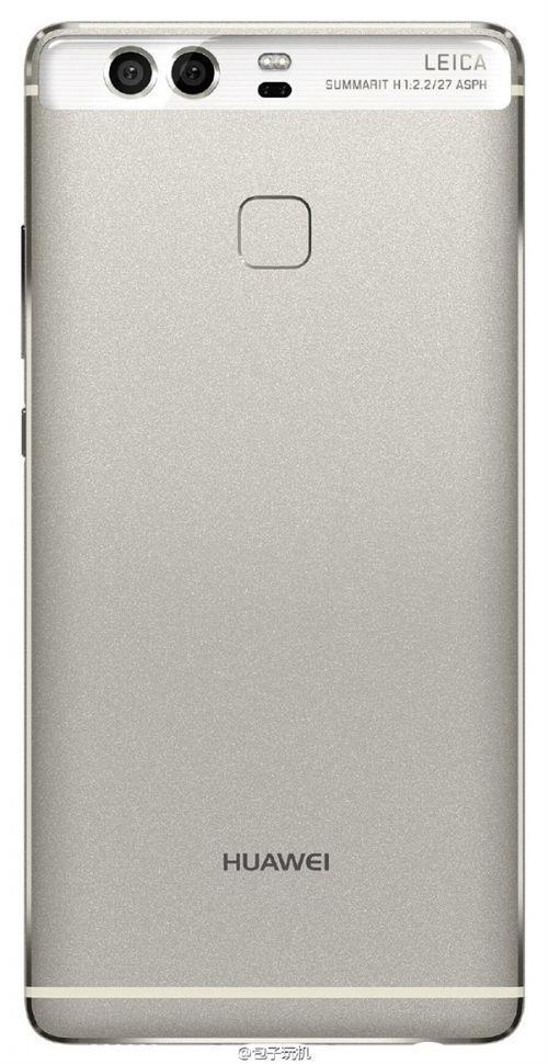 Смотрим на рендеры смартфона Huawei P9