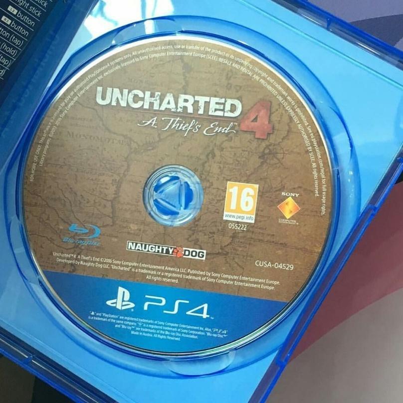 Uncharted 4 уже ошибочно продаётся в Англии