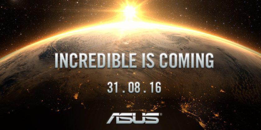 Asus Zenwatch покажут 31 августа 2016