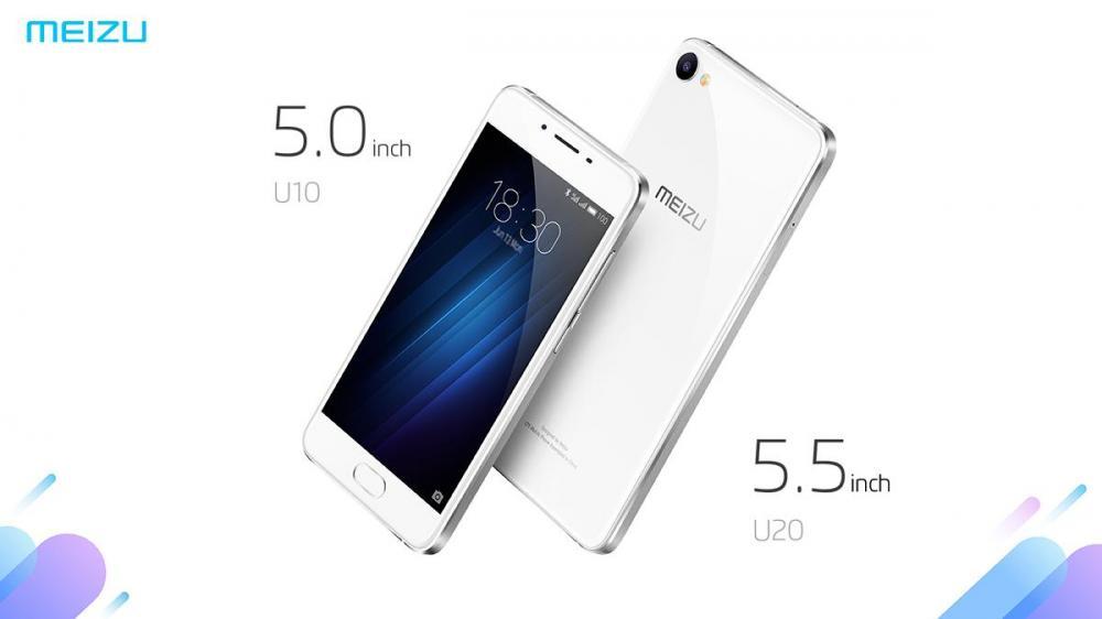 Два новых смартфон Meizu: U10 и U20