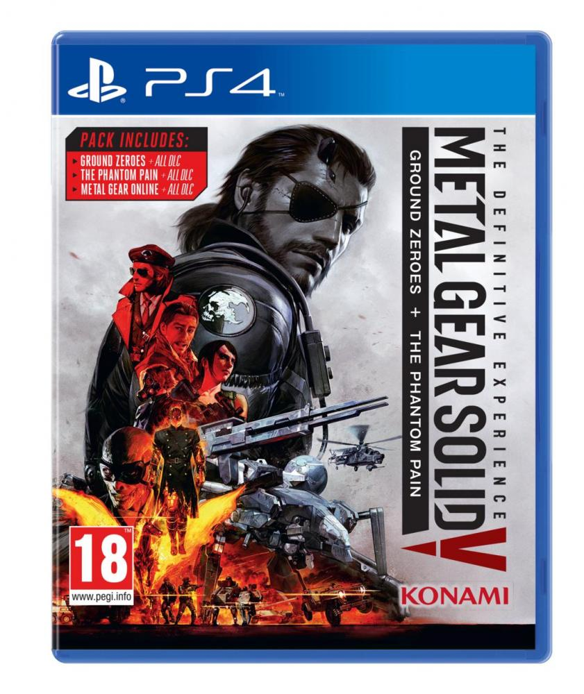 Metal Gear Solid 5: The Definitive Experience теперь официально