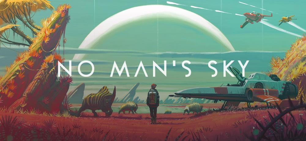 No Man's Sky крайне успешно стартанула: первое место в чартах
