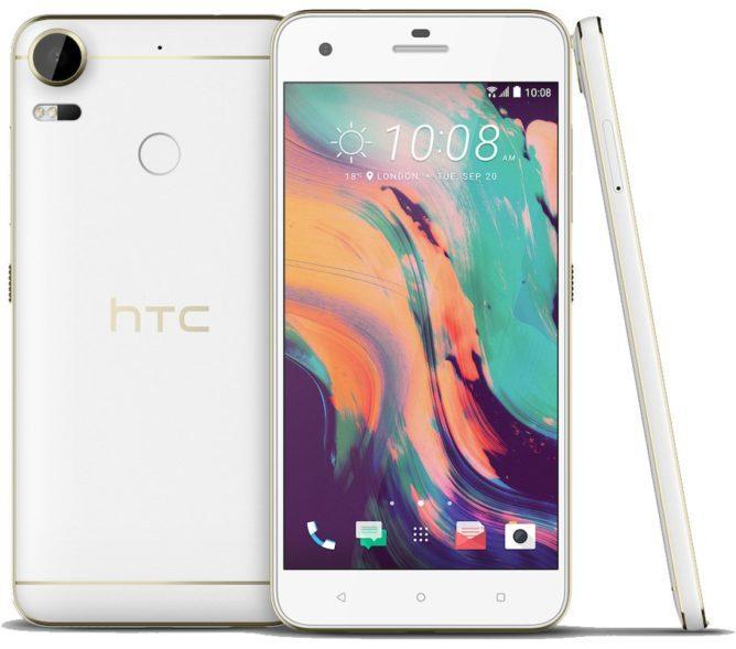 Первые изображения смартфона HTC Desire 10
