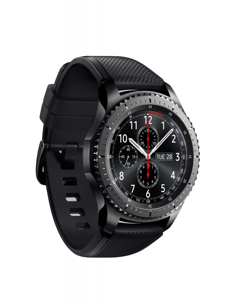 Samsung демонстрирует умные часы Gear S3