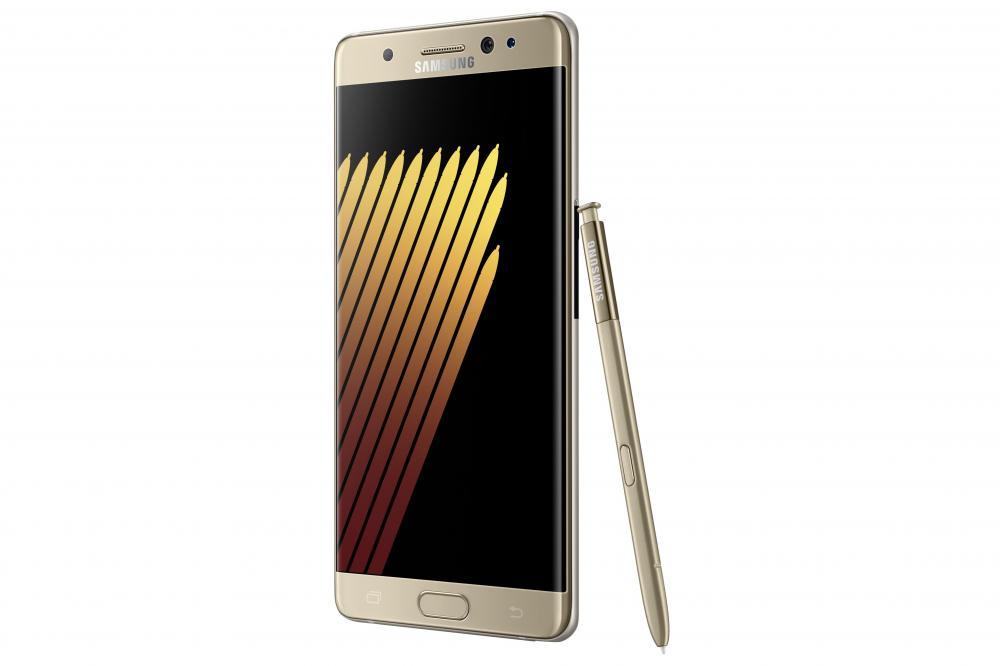 Samsung Galaxy Note 7 задерживается в России