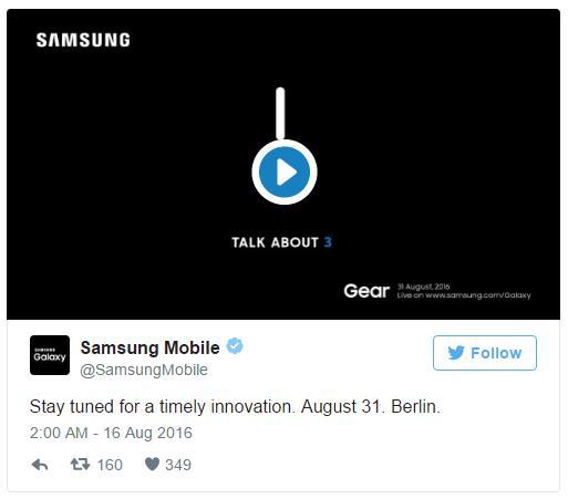 Samsung Gear S3 на день раньше