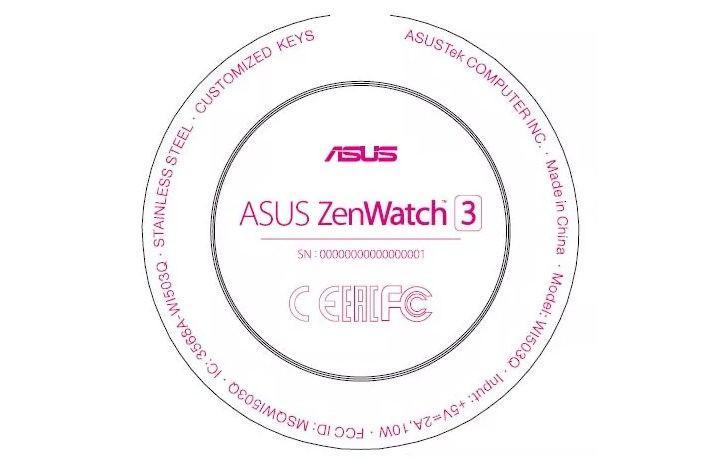 Умные часы Asus Zenwatch 3 будут круглыми
