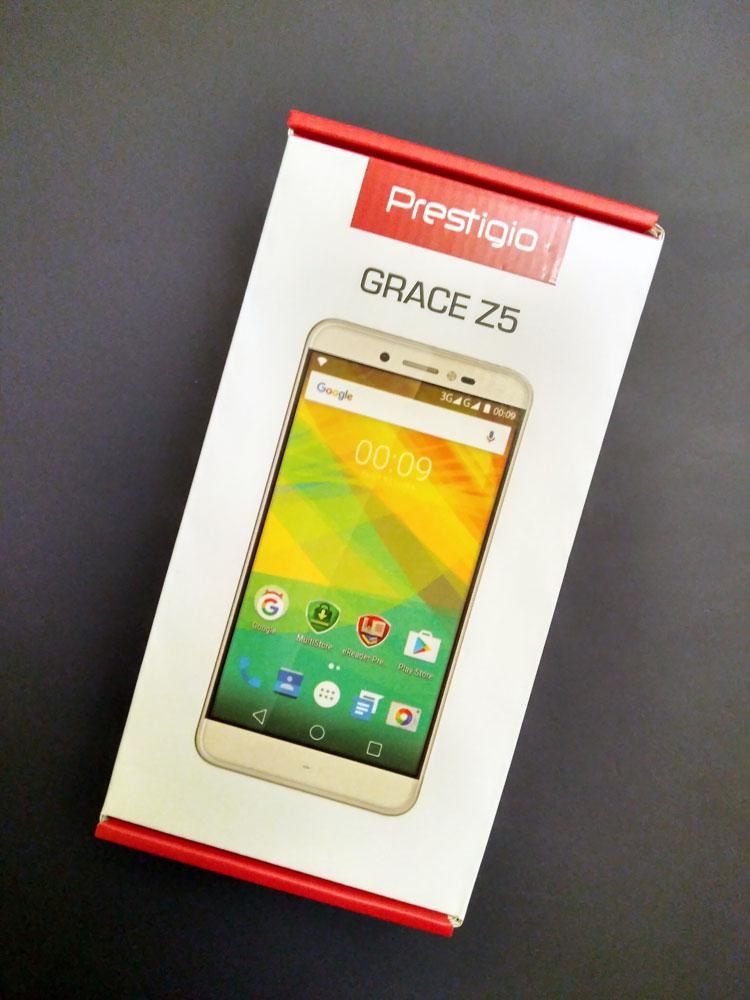 Большой, но ещё не дорогой – Prestigio Grace Z5