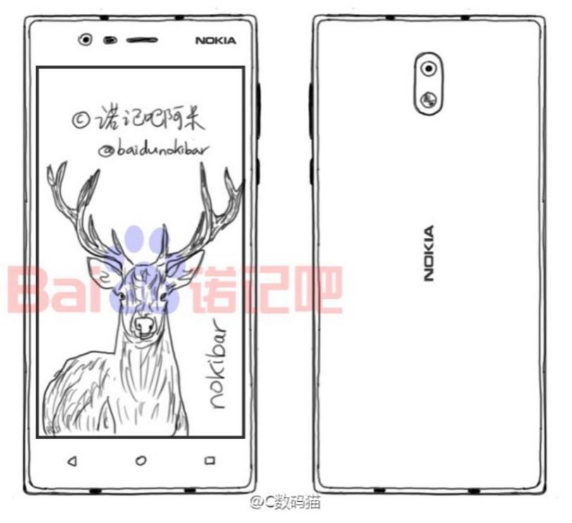 Изображения Nokia DC1, Android Nougat и дебют на CES 2017