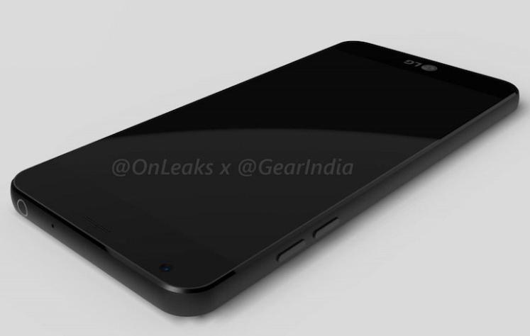 Новые утекшие рендеры смартфона LG G6