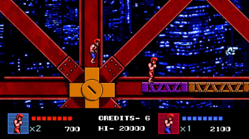 Олдскульный Double Dragon 4 скоро на Playstation 4 и в Steam
