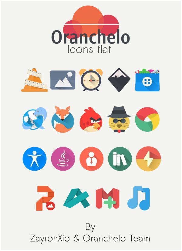 Установка пака иконок Oranchelo в Ubuntu/Elementary OS