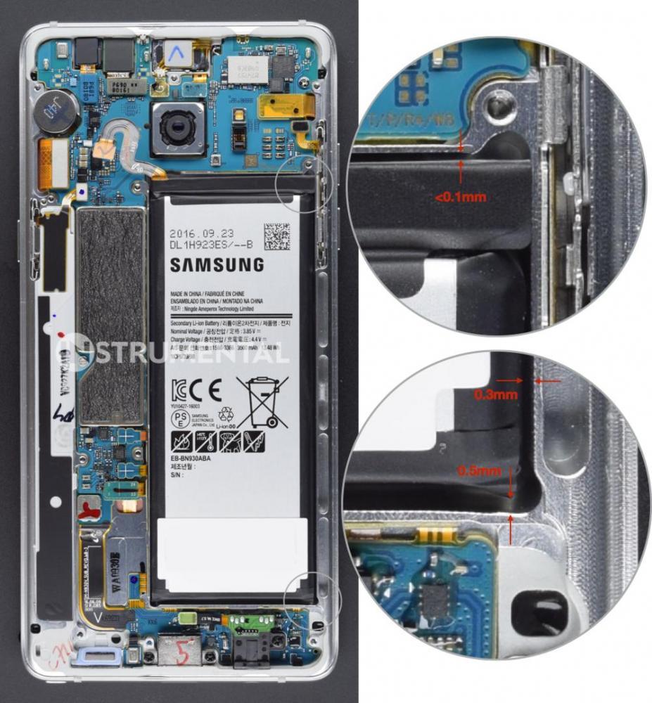 Взрывной дизайна Samsung - причина проблем с Galaxy Note 7