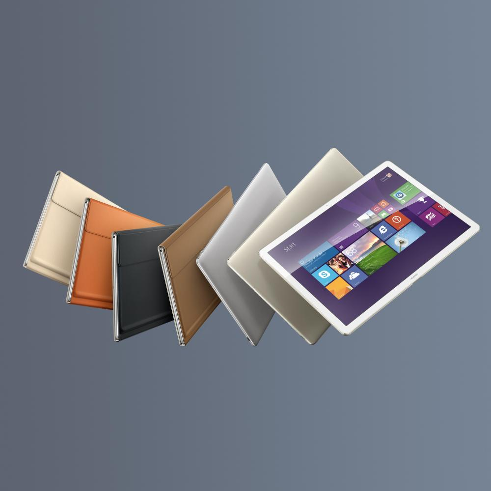Huawei показала гибрид MateBook на Windows 10