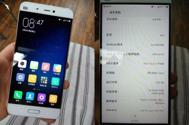 И вновь о Xiaomi Mi 5 - пророчат 6 гигабайт памяти