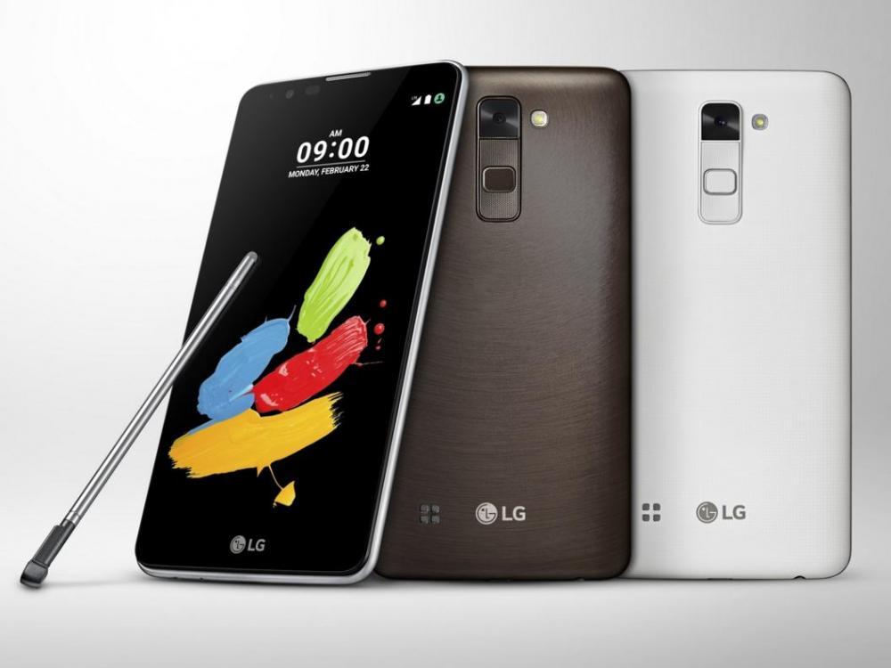 LG Stylus 2 будет просигналит, если забыли стилус