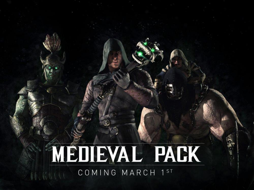 Mortal Kombat X получит скин-пак в марте