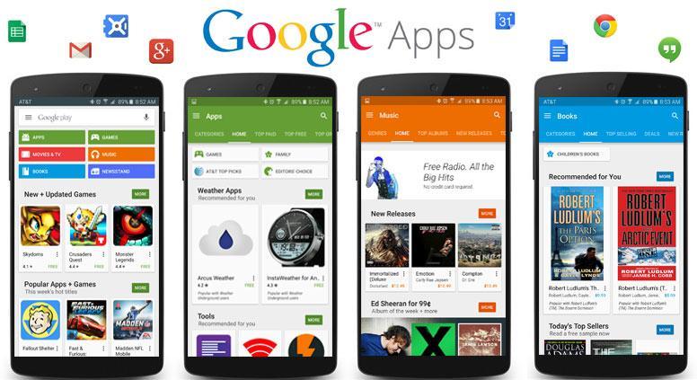 Устанавливаем Google Apps на любой смартфон