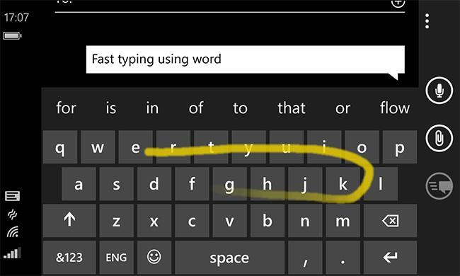 Клавиатура Microsoft держит путь на Android