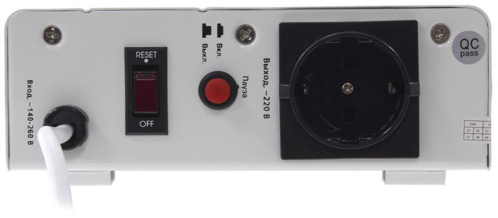 Сеть без скачков – стабилизаторы напряжения SVEN SLIM-1000 LCD и SLIM-500 LCD