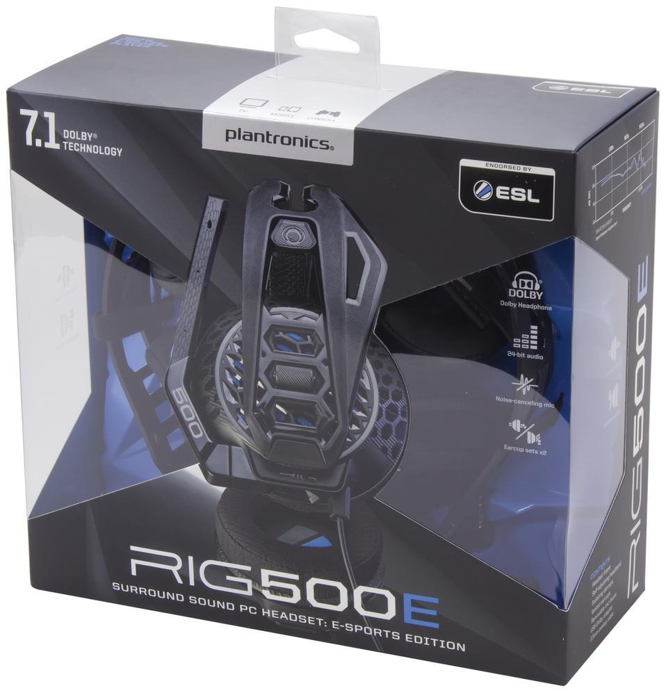 В большой киберспорт: серия игровых гарнитур Plantronics RIG 500