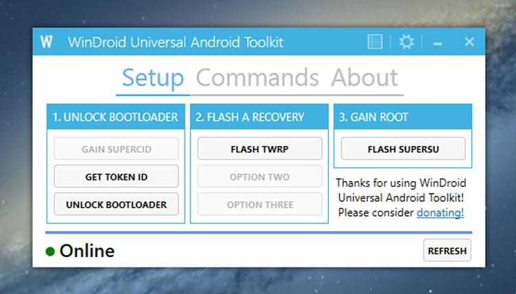 WinDroid Universal Android Toolkit обновился до версии 2.6