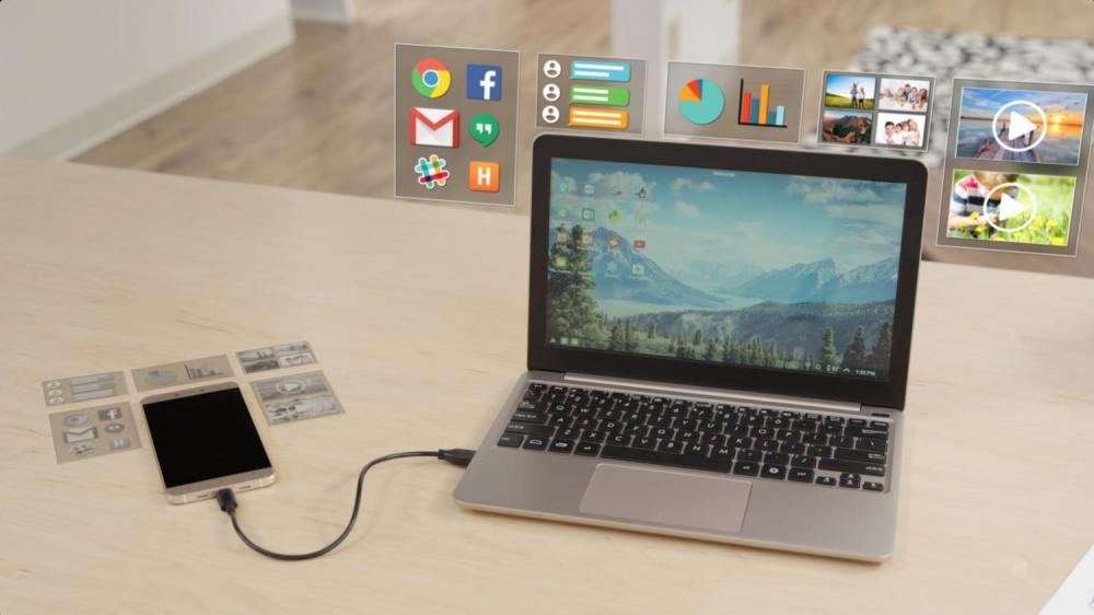 100$ за девайс - превратит смартфон в ноутбук