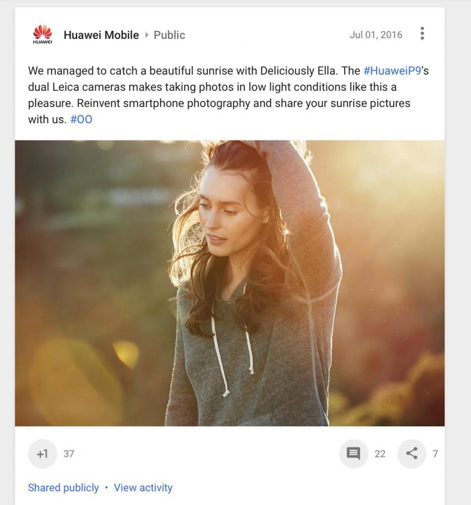 Huawei критикуют за неоднозначный рекламный ход