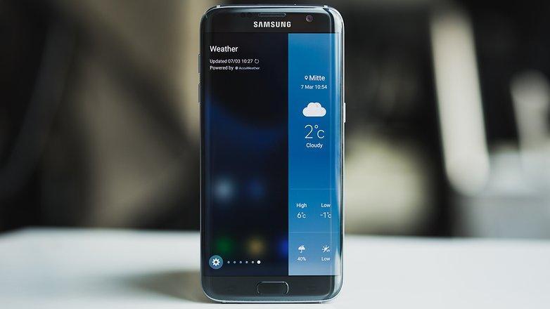 Samsung Galaxy S7 edge - особенности