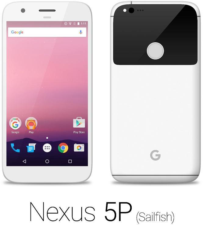 Смотрим первые рендеры Nexus 5P