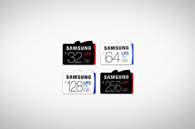 Возможно Samsung Galaxy Note 7 сможет работать с UFS-картами памяти