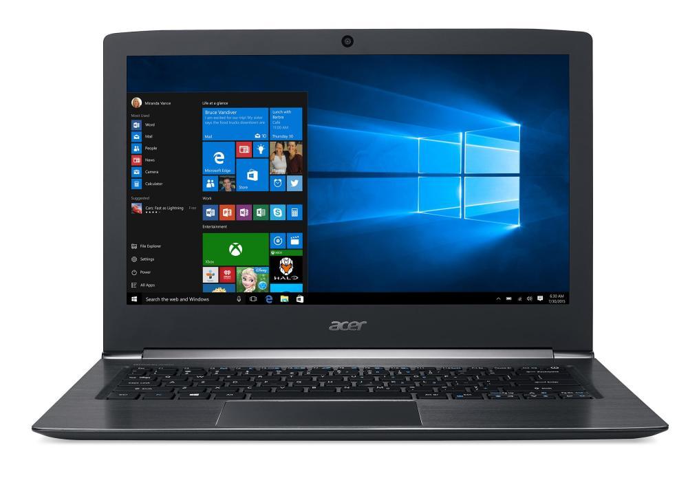 Acer радует свежими ультрабуками Aspire S13 и Switch Alpha 12