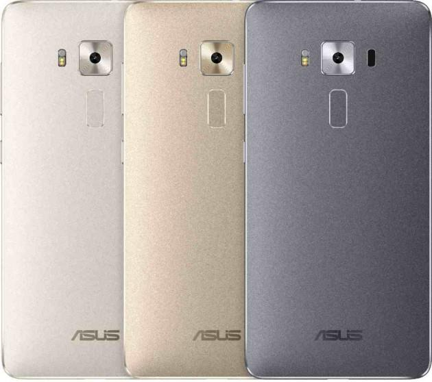 Asus Zenfone 3 вышел в трёх модификациях