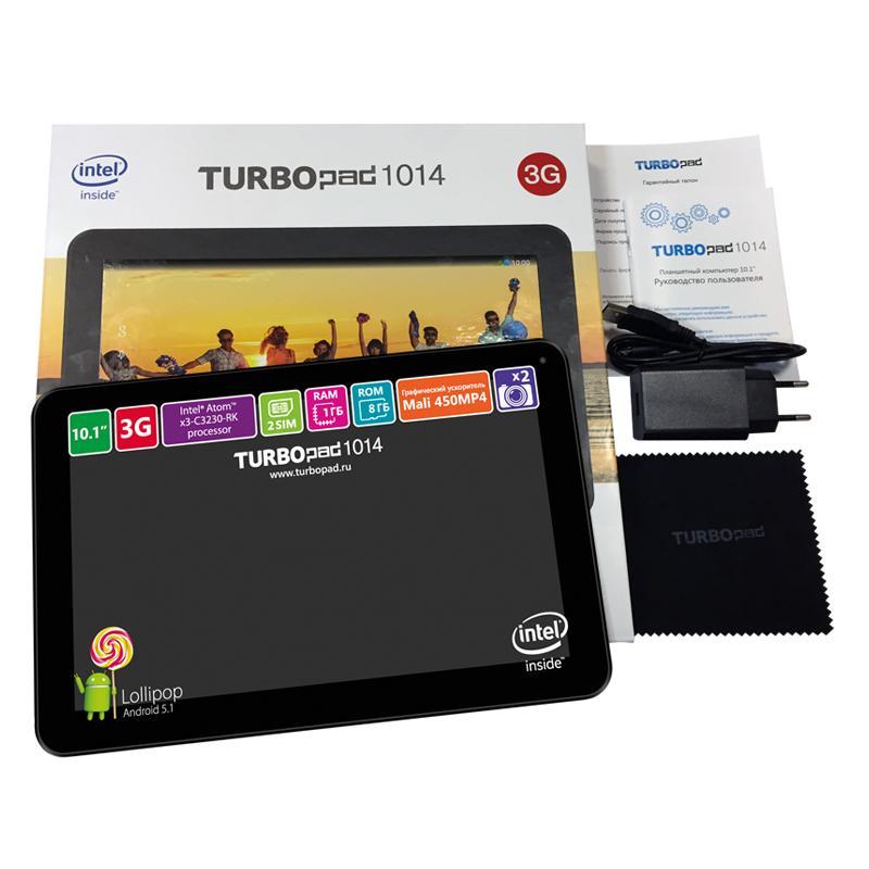 Атомный мозг: Обзор планшета TurboPad 1014i