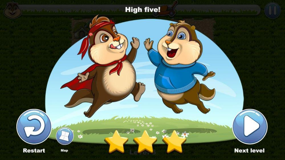 Chipmunks Trouble - к бурундукам спешим на помощь