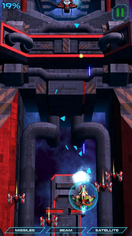 Photon Strike - современный Galaxian для Android