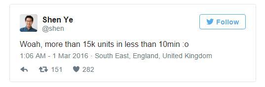15000 штук HTC Vive продано за 10 минут
