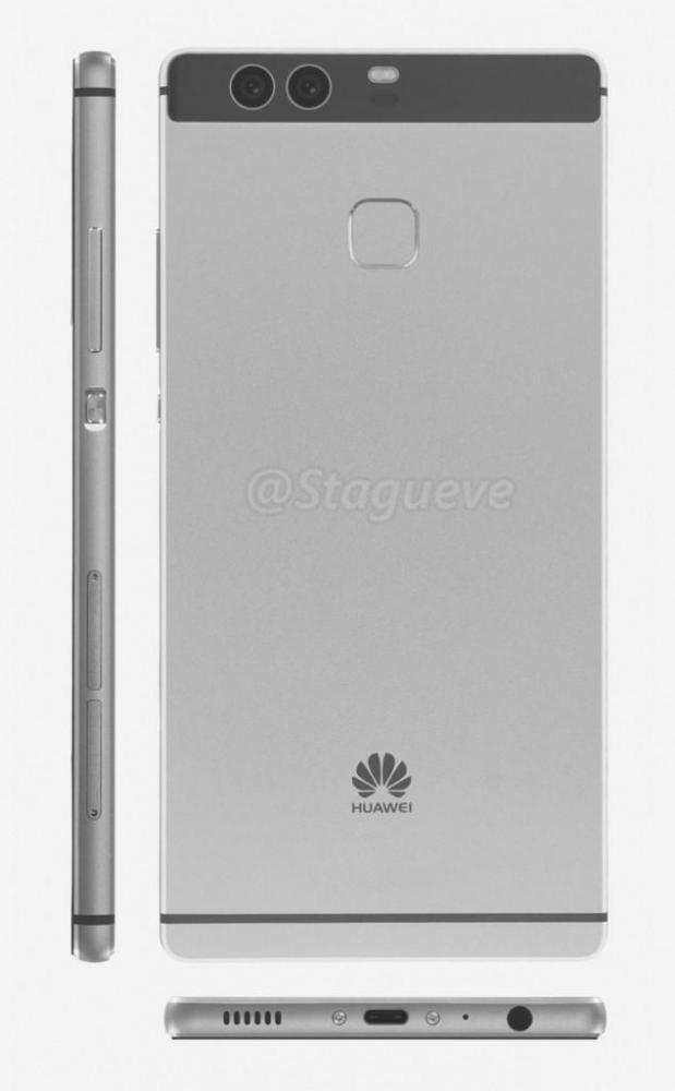 Huawei P9 будет со сдвоенной камерой