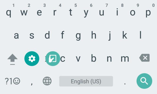 Google Keyboard Обновилась до версии 5.0
