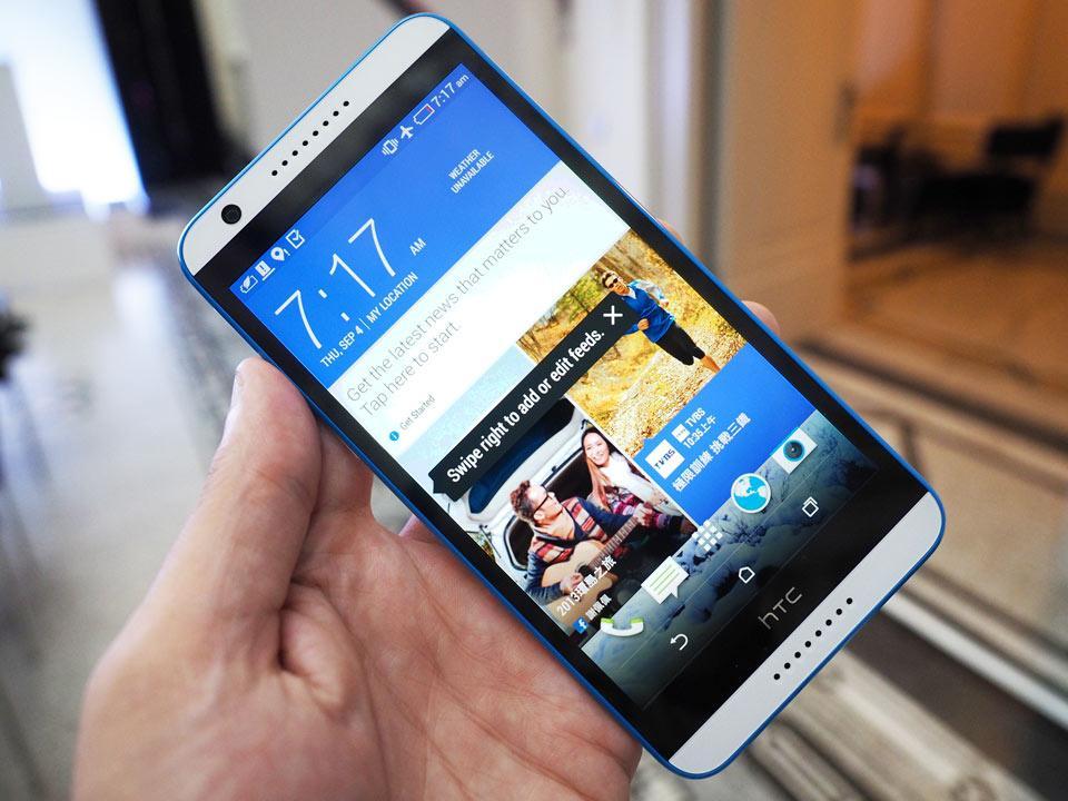 HTC Desire 820 обновляетcя до Android 6.0.1